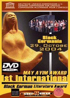 poster promoting the may ayim award DVD